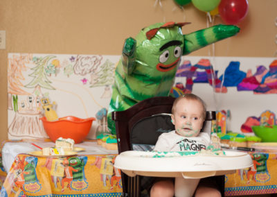 Robert's First Birthday